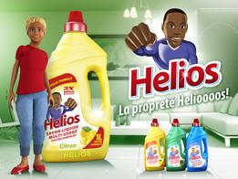 Helios Savon Liquide 1L