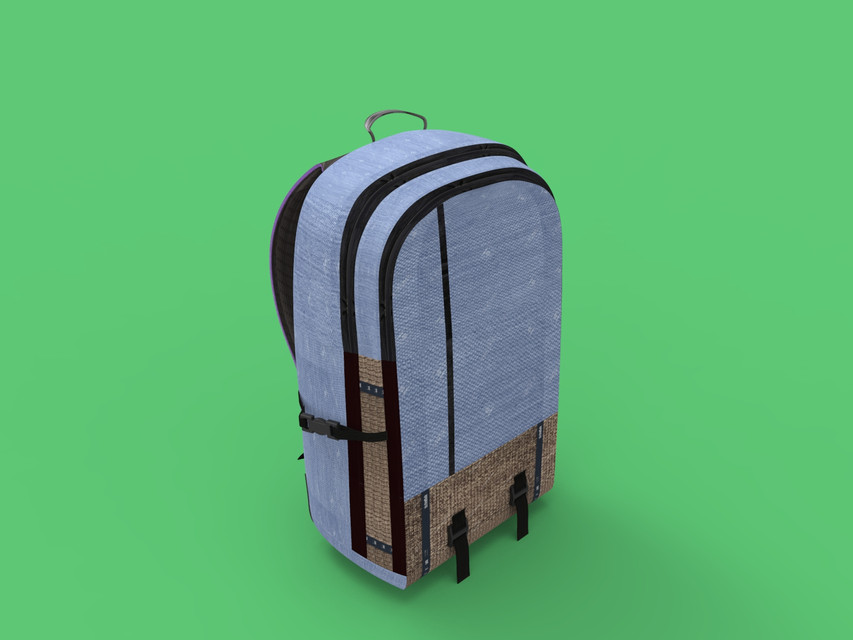 A Backpack | 3D CAD Model Library | GrabCAD