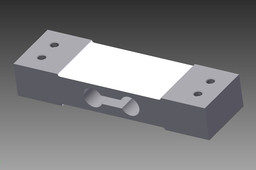 Single point aluminium loadcell