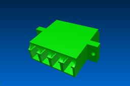 Quad-LC adapter