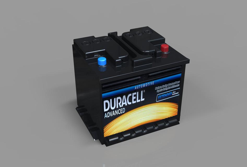 Duracell Car Battery | 3D CAD Model Library | GrabCAD
