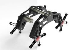 Rough Terrain Robot Design