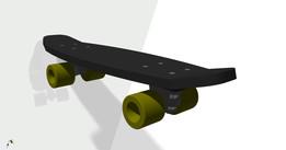 Board of skateboard