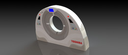 Toshiba CT Scan Machine Enclosure Design