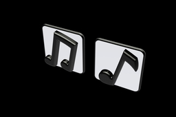 Music Note Wall Decor 2