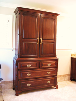 Custom Linen Cabinet
