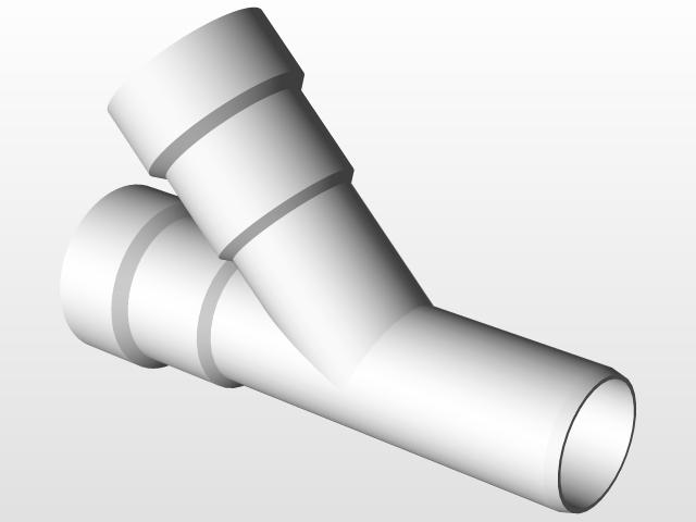 Updated!!! Wavin Wafix PP DN30 plastic fittings | 3D CAD