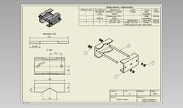 Dupla csőtartó - Beginner CAD lessons