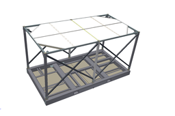 Skid Platform with Crash Cage