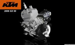KTM 50 SX motor
