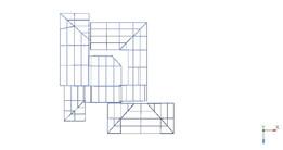 analisis estructural de un techo para casa