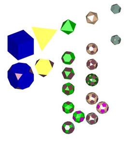 Platonic and Archimedes Solids (Full)