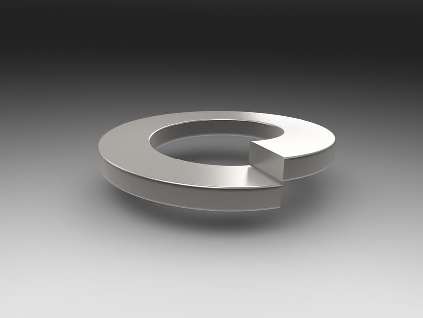 Spring Washer | 3D CAD Model Library | GrabCAD