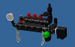 Hypro valve block