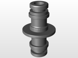 GARDENA Double End Coupling Hose Fitting Connector