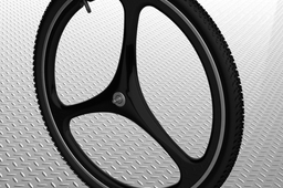 MTB 3 spoke composite wheel