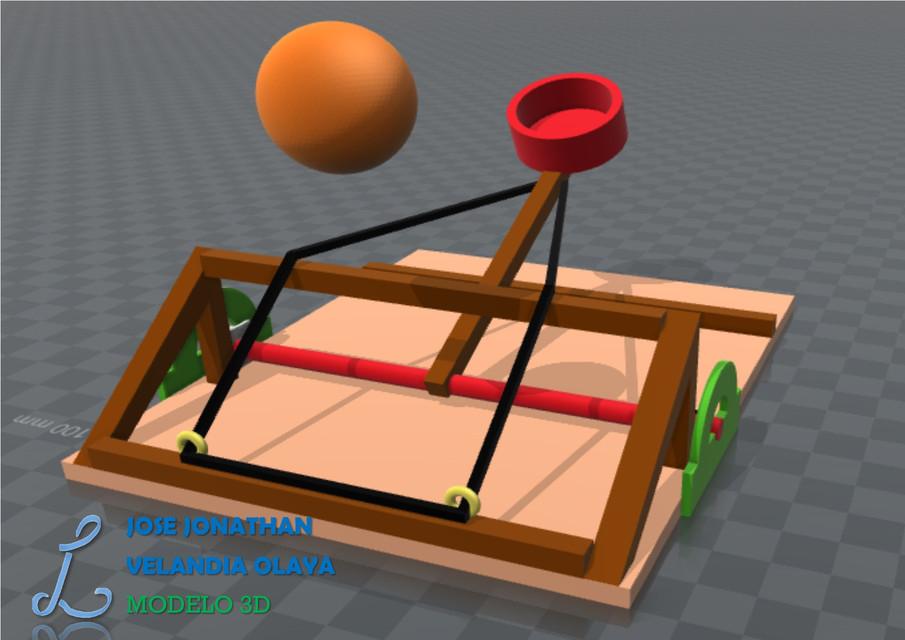 Catapulta Catapult 3d Cad Model Library Grabcad