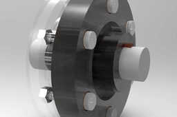 Flexible Coupling With Parts