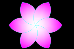 Flower in Autocad