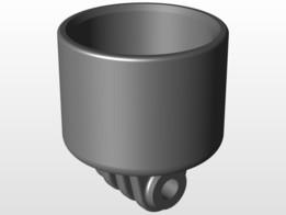 """GoPro 1"""" PVC Pipe Mount"""
