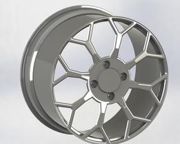 Llanta de aleación BBS para VW ( rim composite metal)