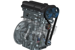 3 cylinder engine design for University Main Project