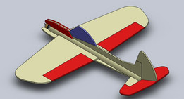 3D foamy model airplane