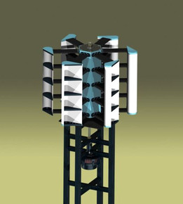 Lenz Vertical Axis Wind Turbine