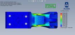 Optimize Airplane Bearing Bracket Design