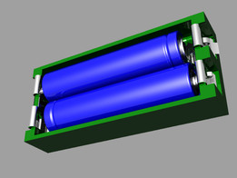 Battery Holder 2x AAA