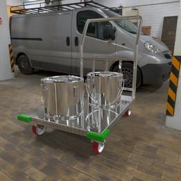 Platform trucks (Тележка грузовая платформенная)