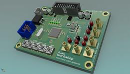 Audio clock generator PCB