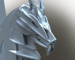 Pegasus bookends, sheetmetal, metalcraftdesign