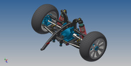 RC Car front suspension