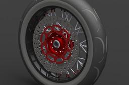 KTM Front Wheel Supermoto 3,5 x 17