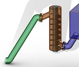 vertical screw conveyer