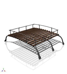 westfalia roof rack for VW bus - 1:12 scale