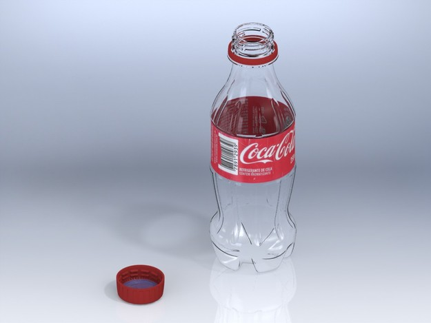 how to draw a coca cola bottle step by step