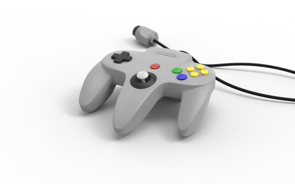 Nintendo 64 Controller | 3D CAD Model Library | GrabCAD