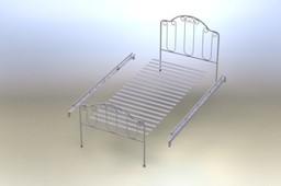 WROUGHT IRON BED ASM.zip
