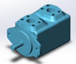 Eaton / Vickers hydraulic motor 25M55A-1C20