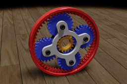 Planetary Gear Animation & SW Files