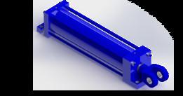 Hydraulic Cylinder Tie Rod Type