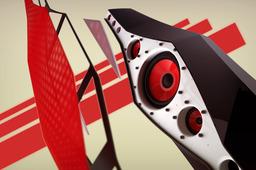 Origami speaker