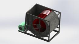 Centrifugal fan BDB 1400 S & P