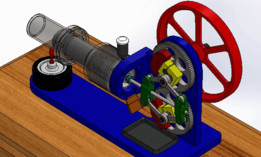 Stirling Engine (SW & .STP) !!!