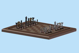 Chess Board Assembly