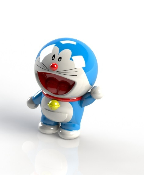 Doraemon Real: 3D CAD Model Library