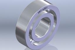 12mm Bearing SKF 6001 (RS 334-1528)