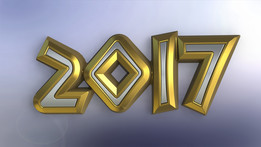 2017 New year logo